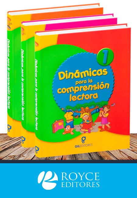 Dinámicas para la Comprensión Lectora 3 Vols