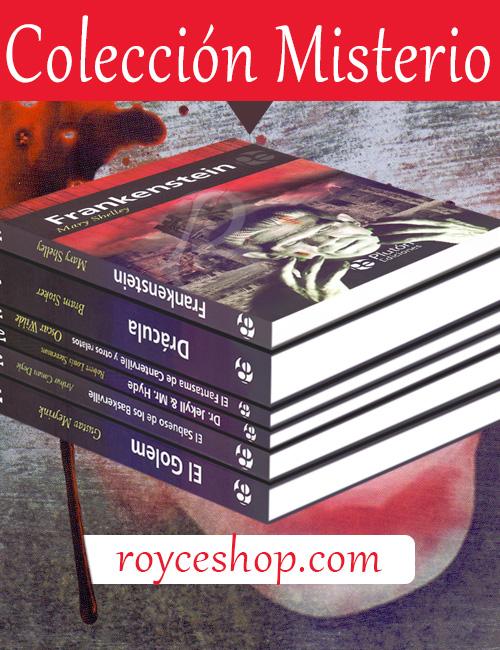 Novela, narracción y leyenda resumidas en una apasionante colección.