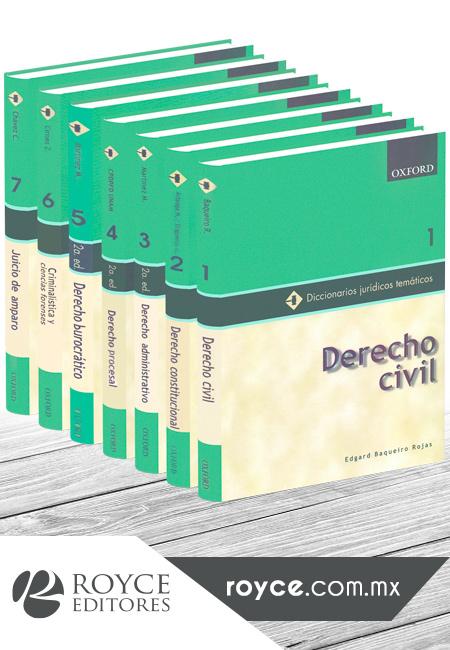 Diccionarios Jurídicos Temáticos Primera Serie 7 Vols