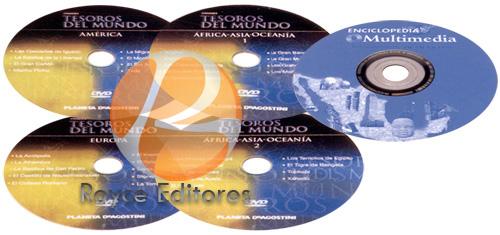 Enciclopedia del Conocimiento 15 Vols con 4 DVDs y un CD-ROM