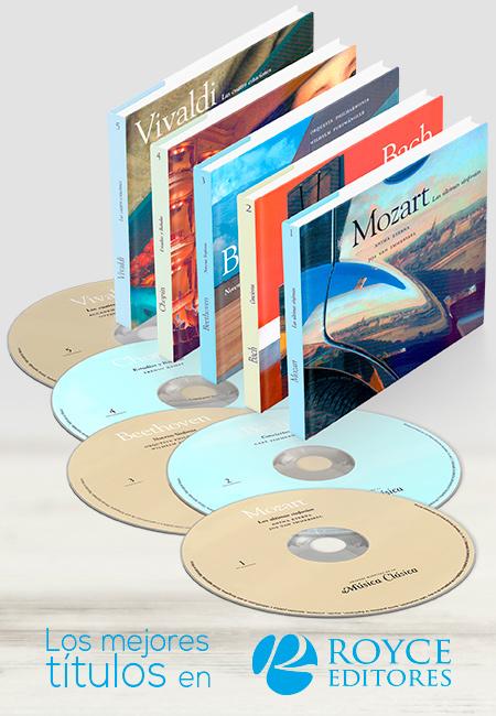 Música clásica de los Grandes Maestros de venta en ROYCE EDITORES