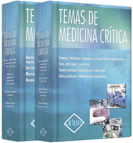 Obra dedicada a médicos generales, especialistas en medicina crítica, útil para facilitar la toma de decisiones en pacientes críticos.
