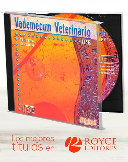 Vademécum Veterinario en CD-ROM Año 2001 3a Edición
