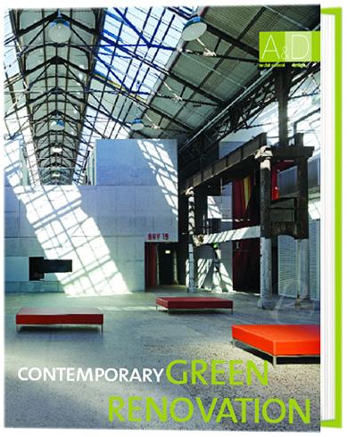 Contemporary Green Renovation es un libro que presenta proyectos de rehabilitación, renovación o ampliación de edificios existentes.