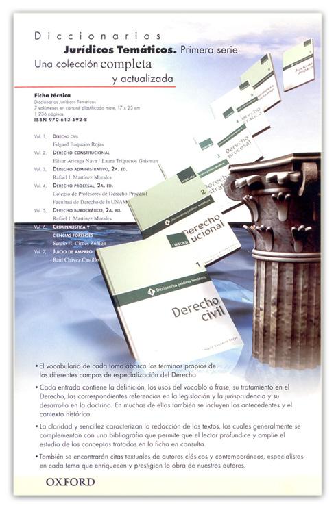 Una colección completa y actualizada que abarca importantes áreas del derecho.