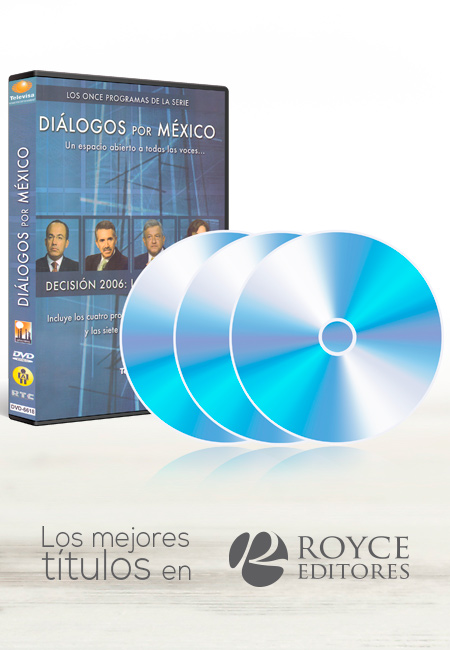 Diálogos por México 3 DVDs